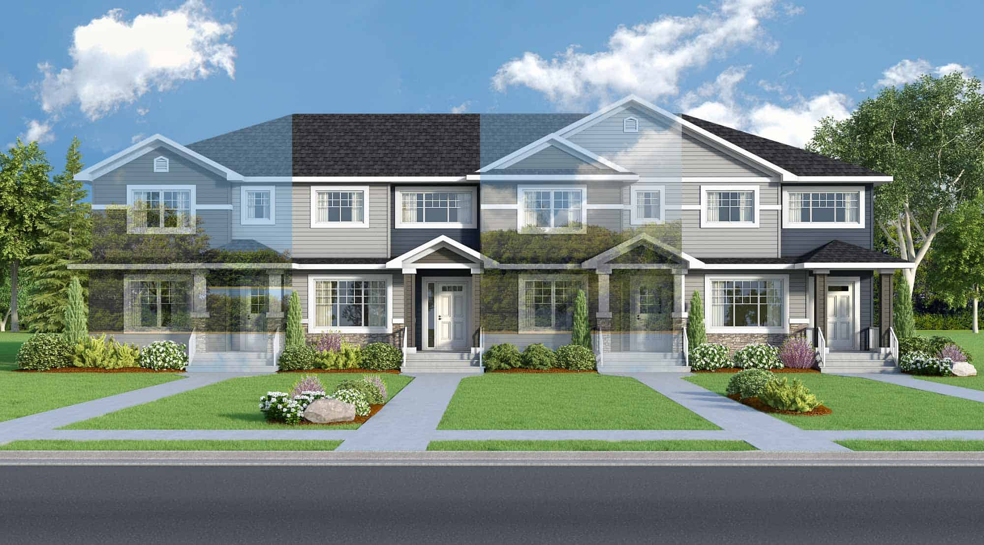 Reduced Price!  Dimaro III – Town Home Show Home